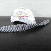 Ръчно изработена мъжка гривна Вълни