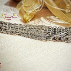 Ръчно изработена гривна Феерия - елегантност и шик на достъпна цена