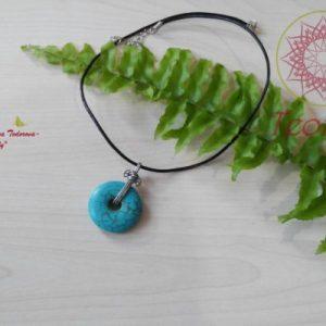 Ръчно изработена висулка Тюркоазен океан - полъх на лято, слънце и морски вълни