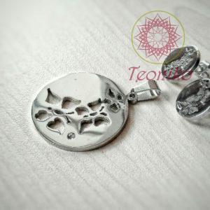 Комплект от стомана Летящи пеперуди - изискан и нежен сет от неръждаема висококачествено полирана неръждаема стомана.
