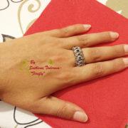 Ръчно изработен пръстен от неръждаема стомана