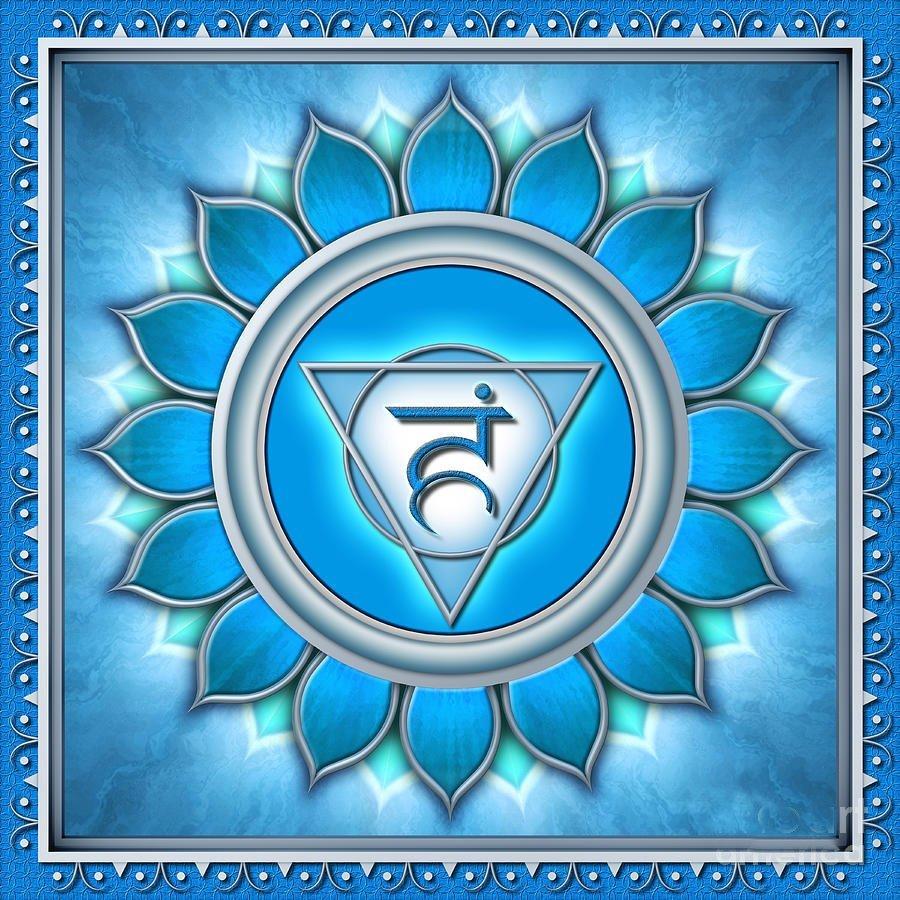 Информация за балансиране на пета чакра с бижута с естествени камъни