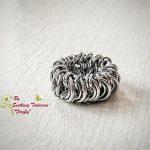 Ръчно изработен пръстен от стомана
