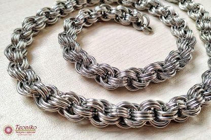 Ръчно изработен ланец Тройна спирала