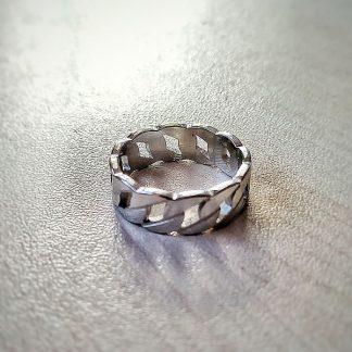 Пръстен от стомана тип халка Верига